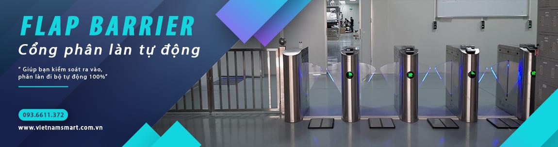 Cổng phân làn tự động Flap Barrier